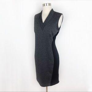 Tahari Sleeveless Tweed-Look Knit Career Dress 6
